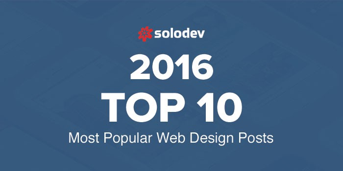 The Top Ten Most Popular Web Design Posts Of 2016
