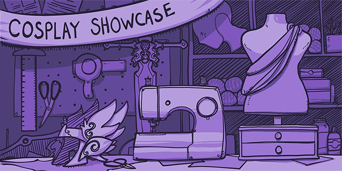 Introducing The Twitch Cosplay Showcase Twitch Blog Gorgeous Good Sewing Machine For Cosplay