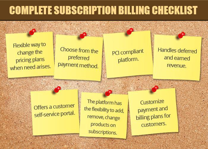 Best Practices To Manage Customer'S Subscription Services