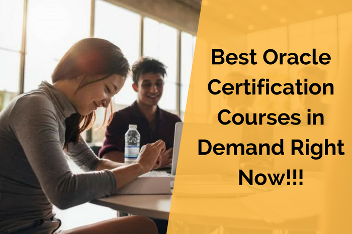 The Best Oracle Certifications Courses In Demand Alice Cooper Medium