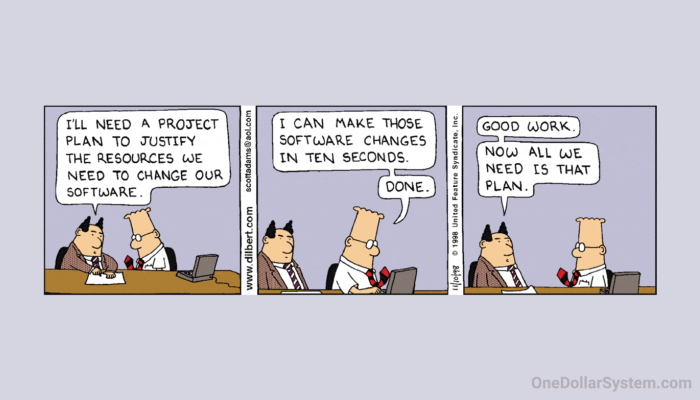 Dilbert.com - Need A Project Plan to Justify Resources