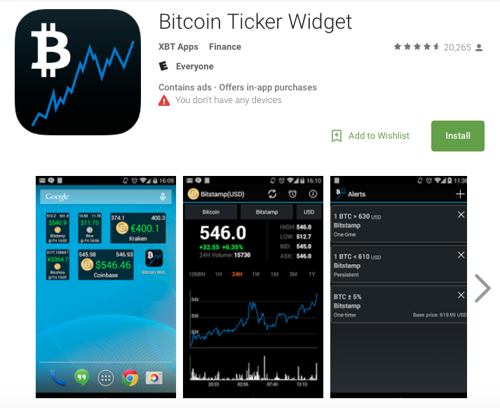 app bitcoin android)