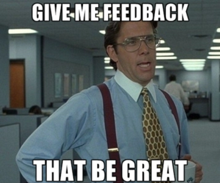 Meme of Feedback - Add new features - Plann3r Inbound Meeting Scheduling