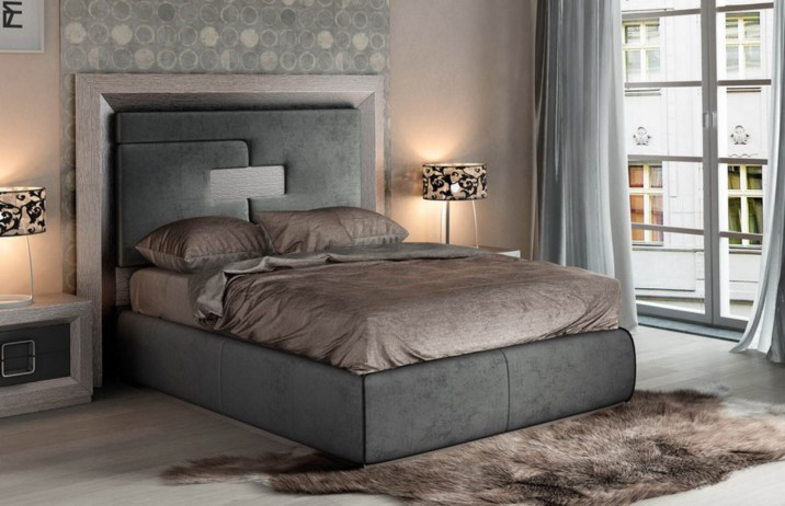 Fashionable Contemporary Bed