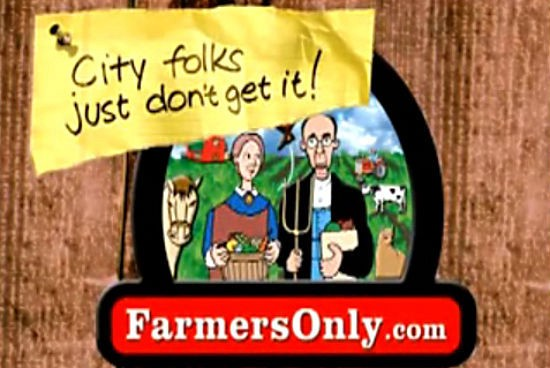 farmers dating website commercial