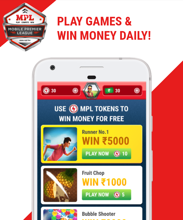 Play and win money now