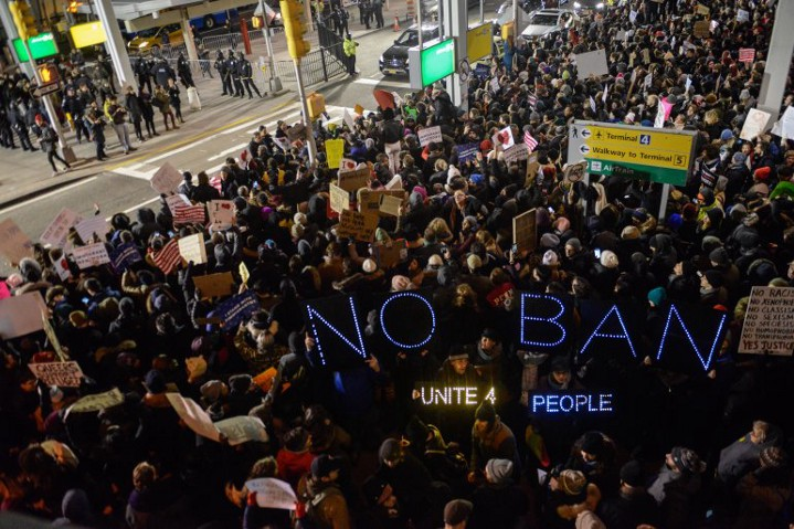 Image result for trump executive order immigration ban