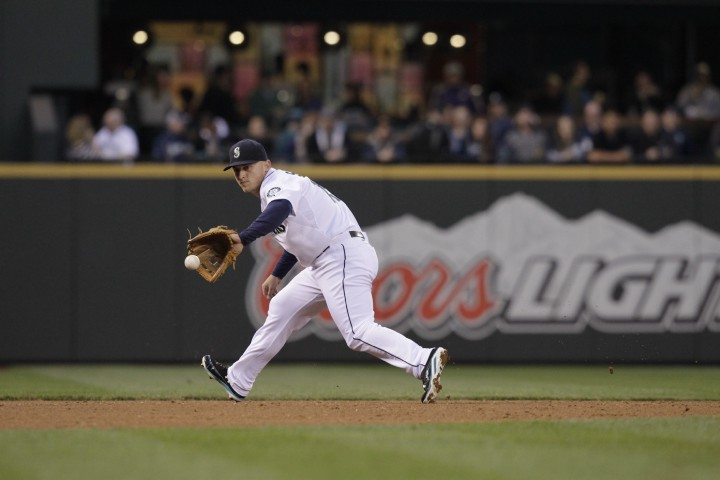 Kyle Seager has been the 2nd-best defensive player in the American League in 2014.