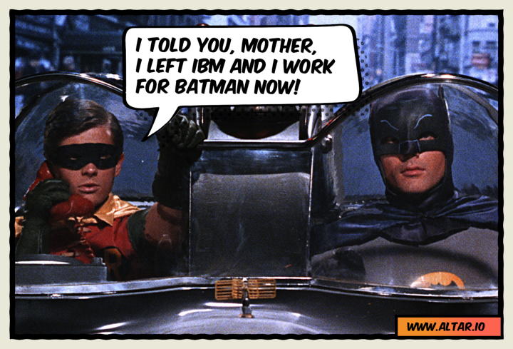 Batman & Robin: A CTO with Commitment