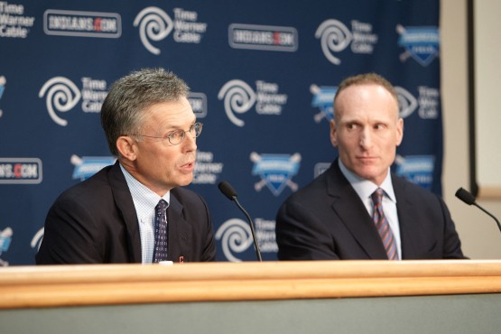 Press conference regarding Mark Shapiro being named Toronto Blue Jays and Rogers Centre President and CEO