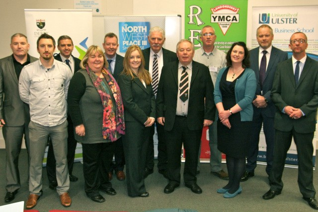 Speakers at Londonderry YMCA conference