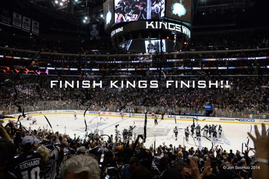 2014 STANLEY CUP FINALS GAME TWO-New York Rangers at Los Angeles Kings