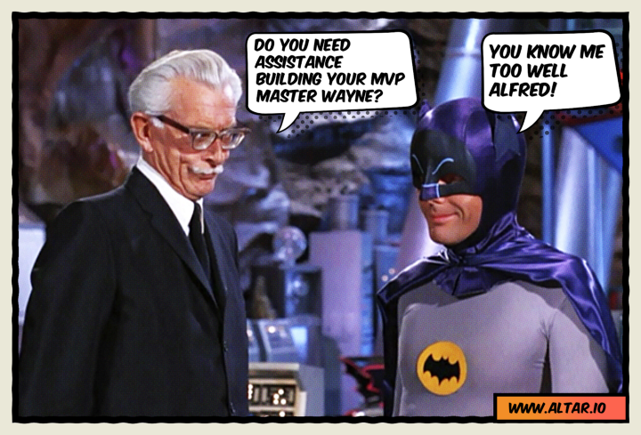 "Alfred: ""Do you need assistance to find a CTO master Wayne?"""