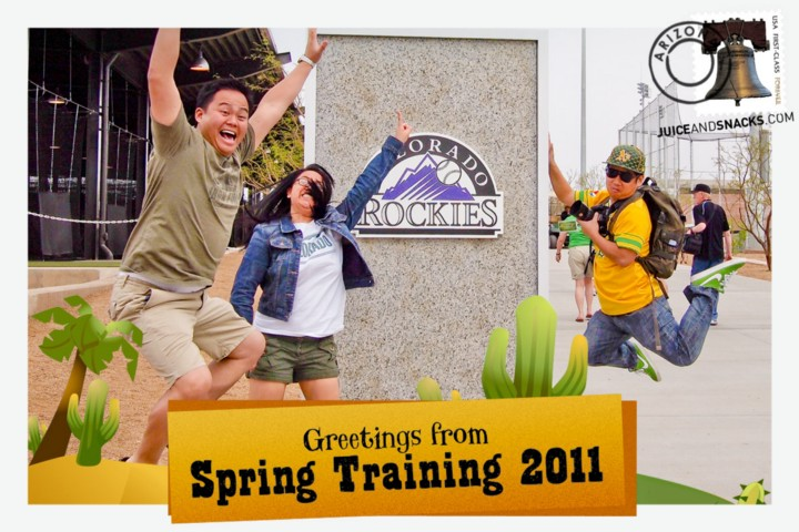 Greetings from Spring Training 2011!