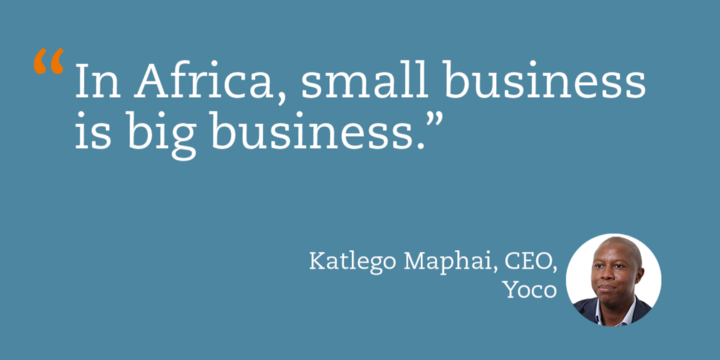 """In Africa, small business is big business."""