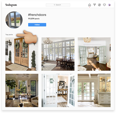 Top Posts on the web version of Instagram