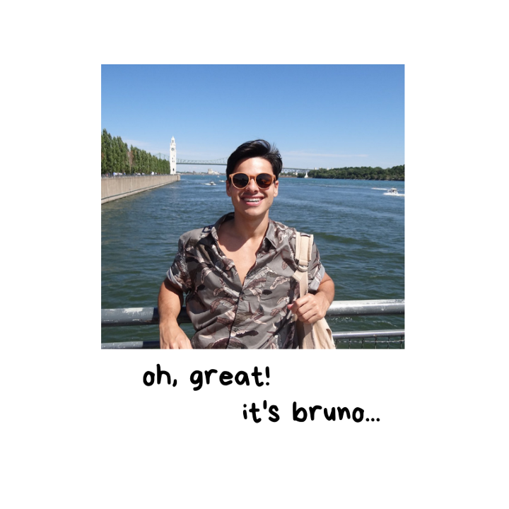 oh, great! it's bruno