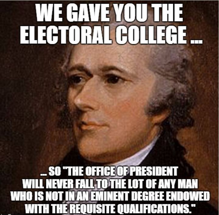 1*Oosi2GgPC6FeX0hcXnlbAw founding fathers and 18 us elections tell electoral college do,Electoral College Memes