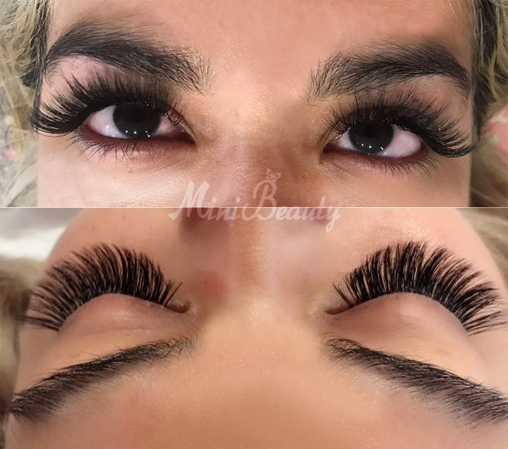 3d Eyelash Extensions Full Set Mini Beauty Medium