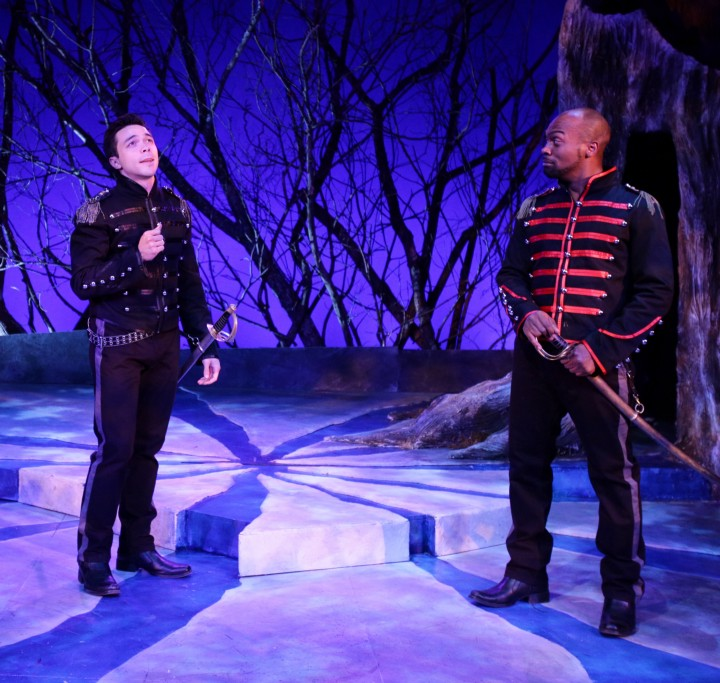 Sam Simahk* and Maurice Emmanuel Parent* in Into the Woods