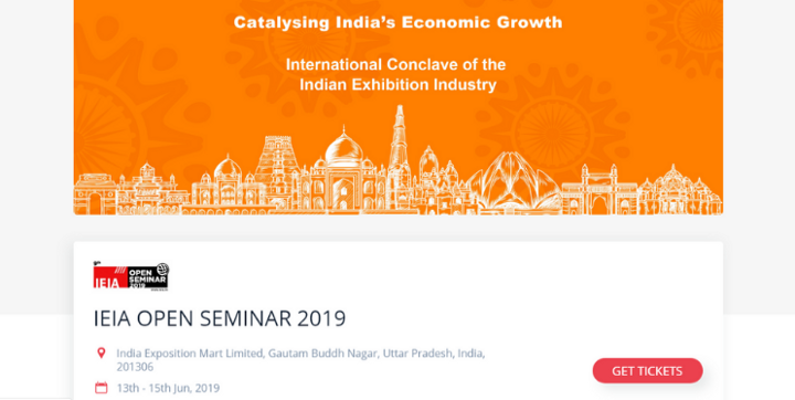 indian exhibition industry IEIA open seminar 2019