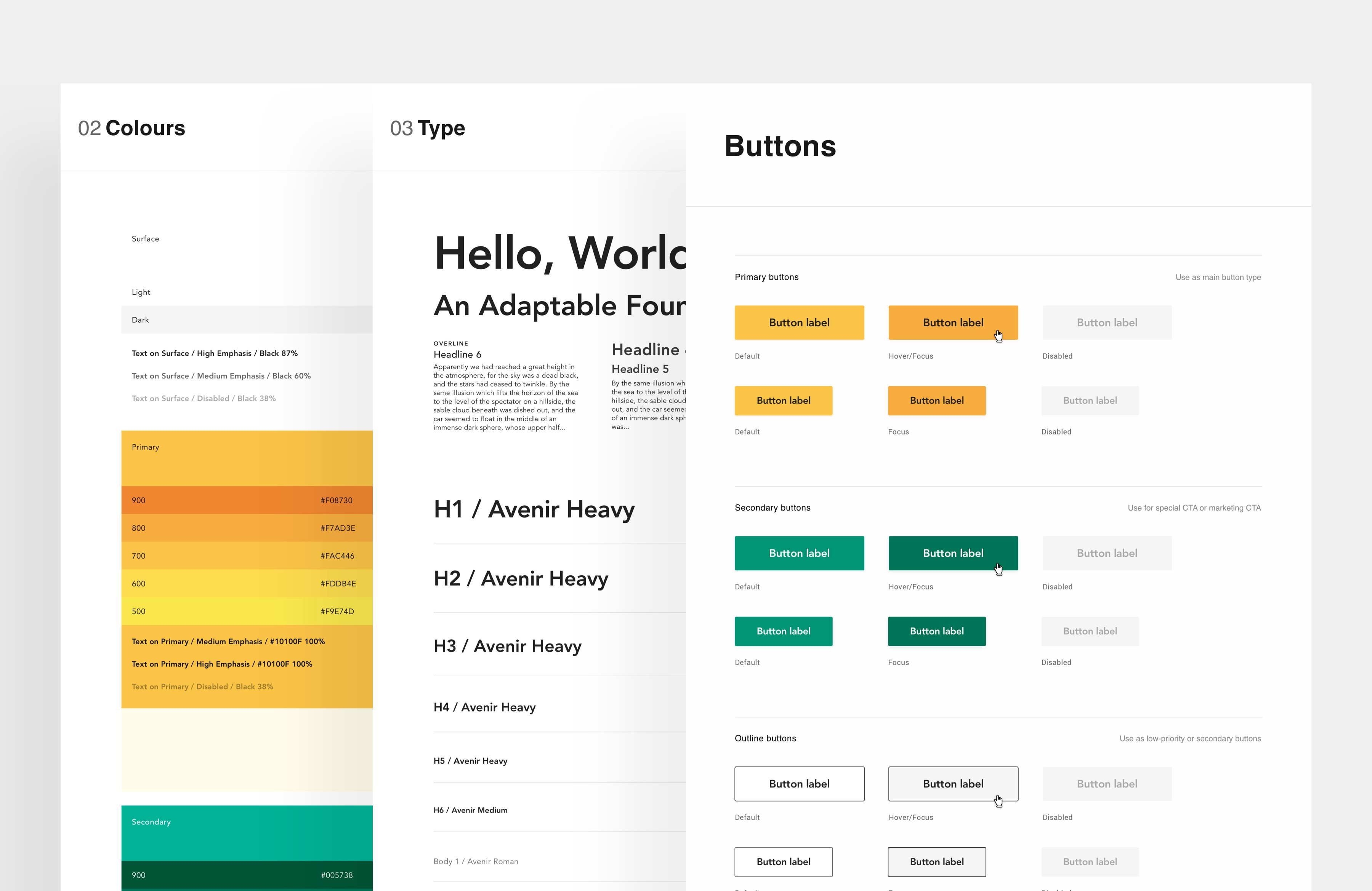 Our UI Kit & Styleguide