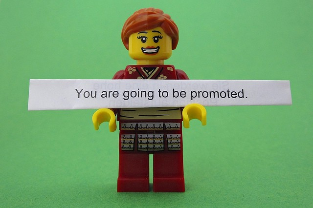 You Are Going To Be Promoted