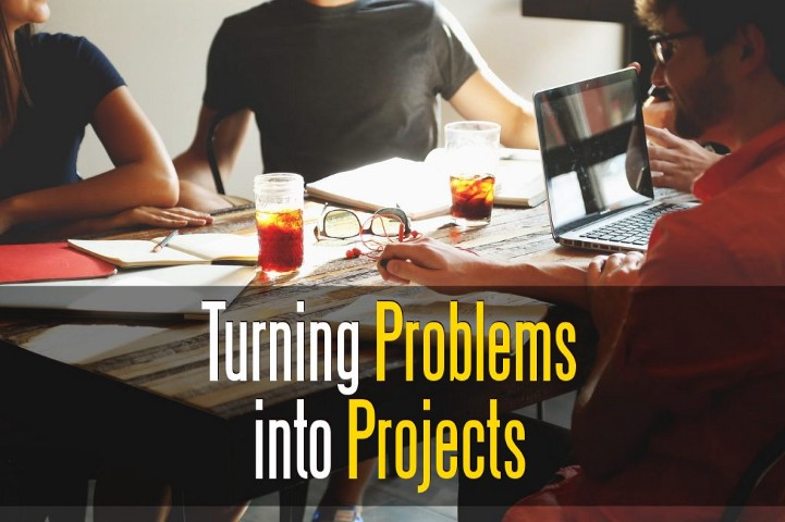 Online Business: Turning Problems into Projects