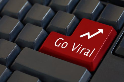 what does goes viral mean