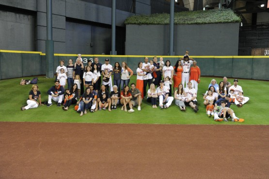 Astros Family Field Day 2014