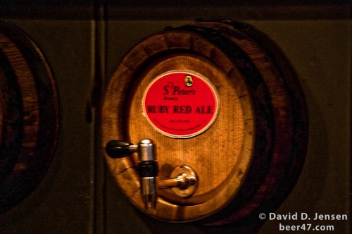 St. Peter's Ruby Red Ale Cask at The Jerusalem
