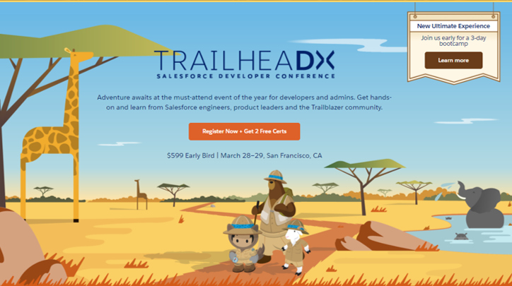 TrailheaDX '18 — Register now for the NEW Ultimate