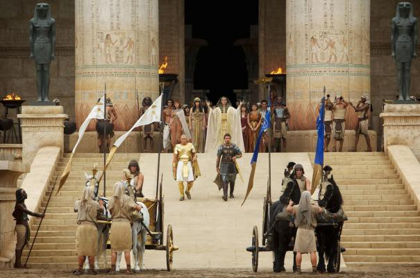 exodus gods and kings trailer egypt looking like ancient greece
