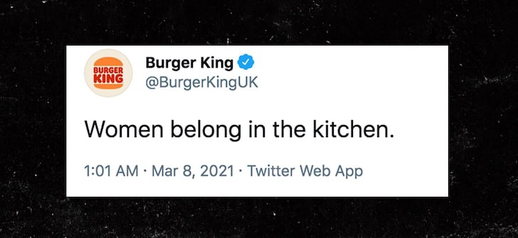 Burger King Had To See This Coming, Right?