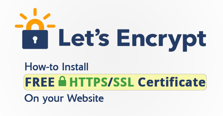 Secure Apache with Let\'s Encrypt Free SSL Certificate