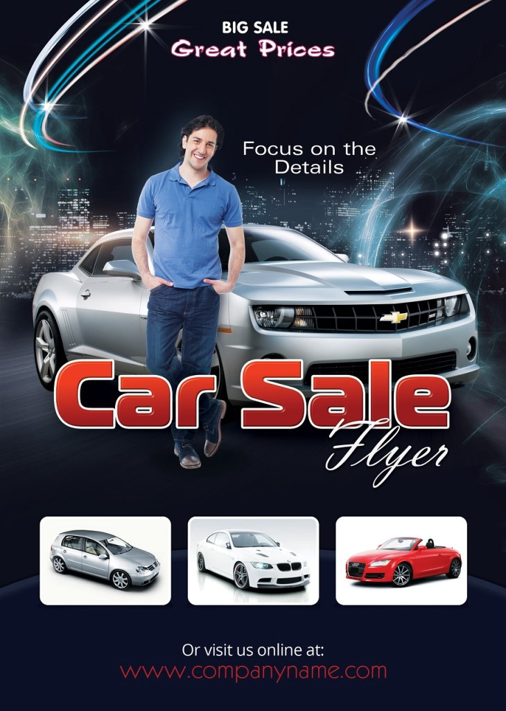 Car Sales Flyer Template Photoshop Version  Photoshop Flyers  Medium
