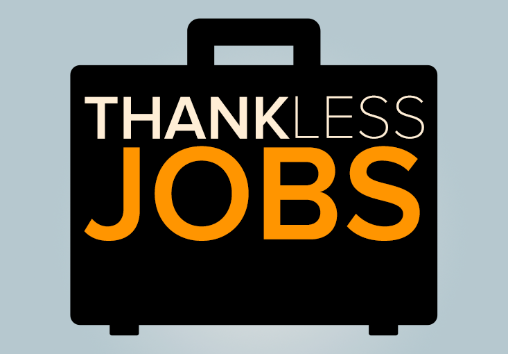 How To Feel Great In A Thankless Job
