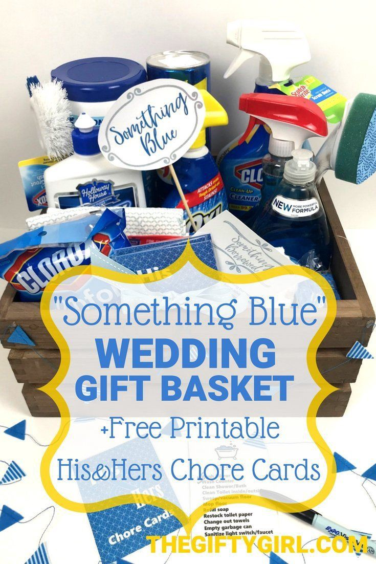 Diy Gifts Ideas Something Borrowed Something Blue Bridal Shower