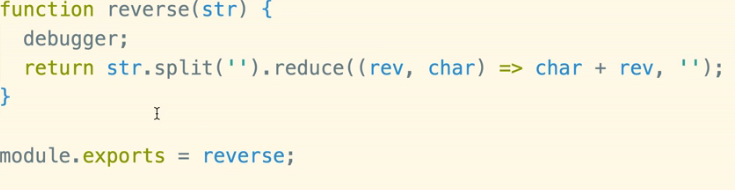 yaay! we put in our Debugger statement