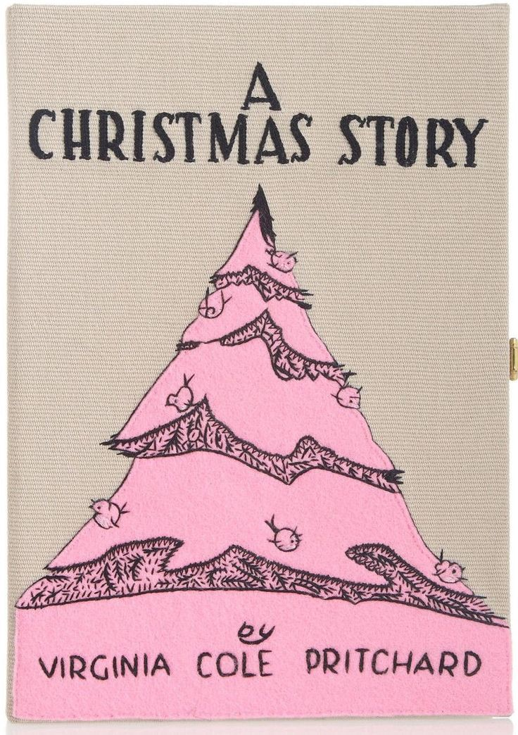 olympia le tan canvas clutch a christmas story limited edition purse
