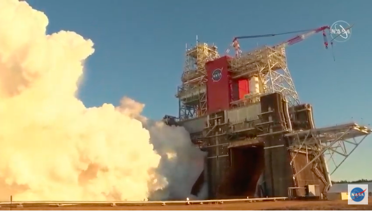 Putting the Space Launch System Hotfire Test in Perspective: A Persona