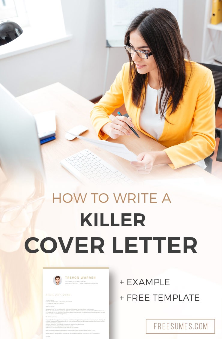 Free Cover Letter Example And Template