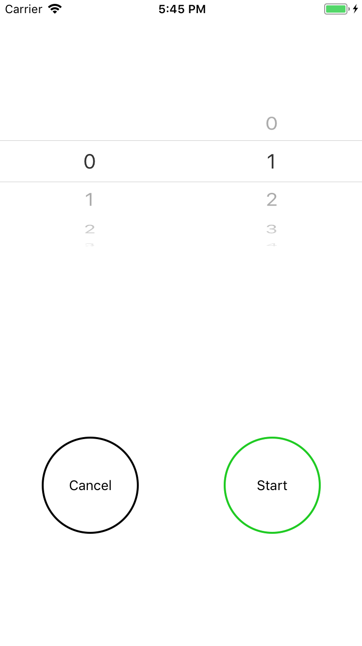 How To Build A Mobile App Using React Native Hua Medium Simple Timer In This Article You Will Learn The Following Is Screenshot Of Final Product