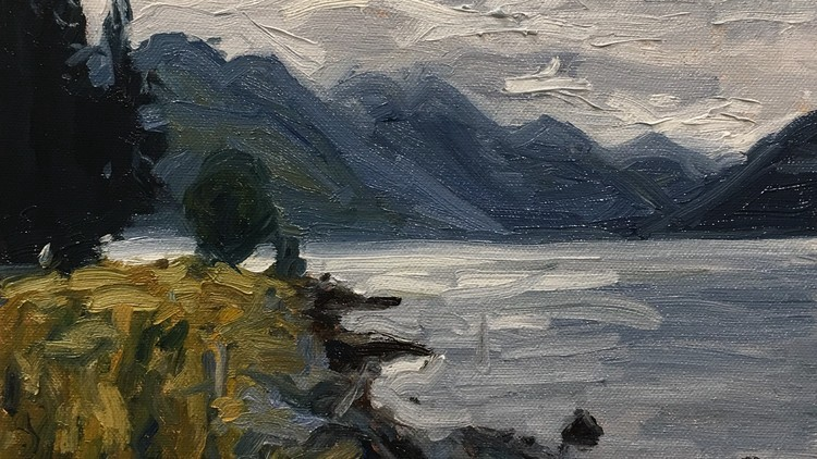 Learn To Paint This New Zealand Landscape Scene In Oils Udemy Free - Ibs paint