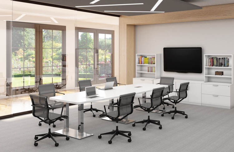 Buy Conference Table Set By Office Source Office Furniture Medium - Office source conference table