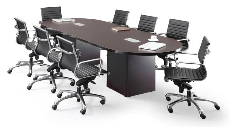 Buy Racetrack Conference Table With Cube Bases By Office Source - Office source conference table
