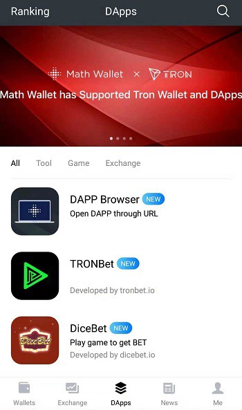 How to craete TRON wallet and get BP & Energy? - MathWallet