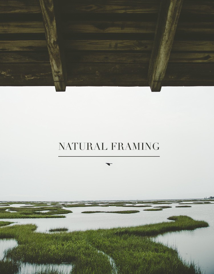 natural framing photography. Natural Framing Photography