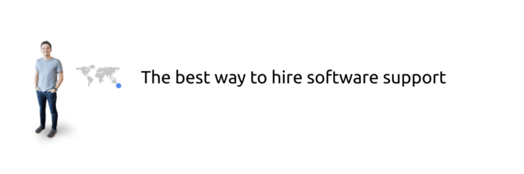 The best way to hire software support, consultant, developer.