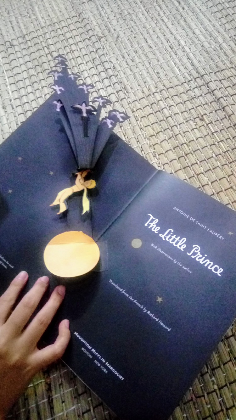 the little prince popup book